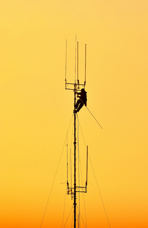 linemen: Working at height.