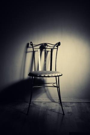 Empty chair. photo