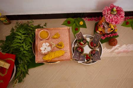 Hindu prayer preparations