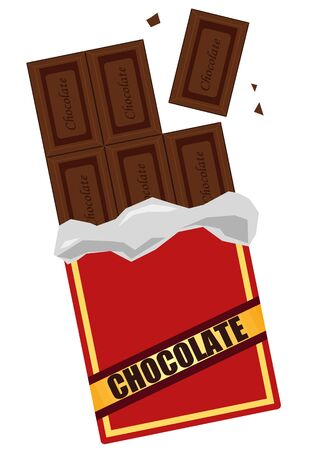 Chocolate Confectionery Vector Illustration