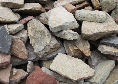 fragments: Rock fragments from the destruction