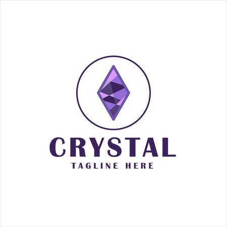 crystal icon design.