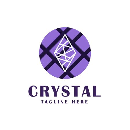 crystal icon design.