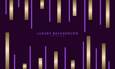 abstract and futuristic purple background. golden background