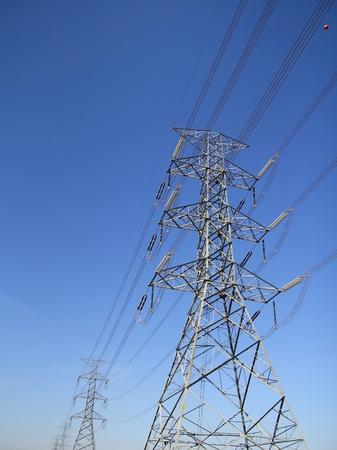 big electricity post photo
