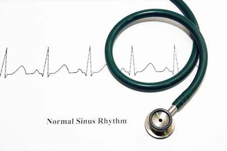clean lungs: stethoscope