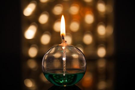 oil lamp: lamp
