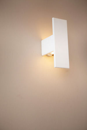 wall sconce: lamp