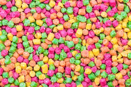 fullframe: Candy sprinkles, in full-frame background Stock Photo