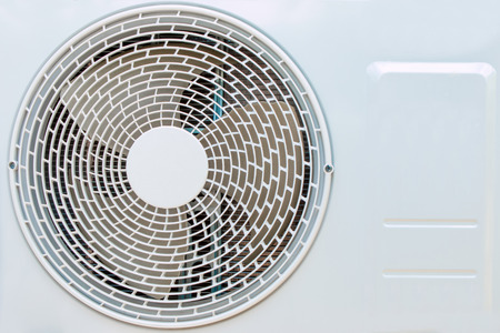 residential home: Heating and AC unit used in a residential home