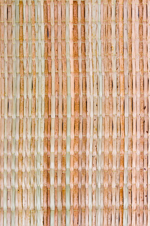 Texture of native thai style weave sedge mat background - made from reed Stock Photo