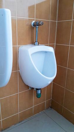 latrine: row of  urinals men public toilet