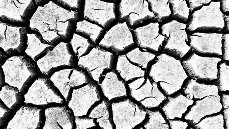 crack: crack earth Stock Photo