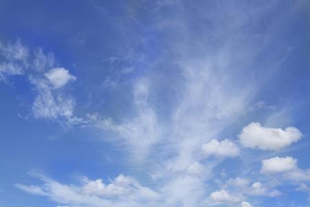 Cloud ans blue sky background Stock Photo