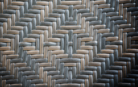 Close up bamboo weave texture