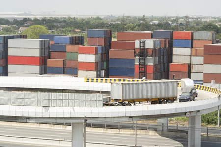 Logistics and transportation of container cargo