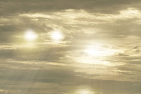 cloud and sky with sunray background