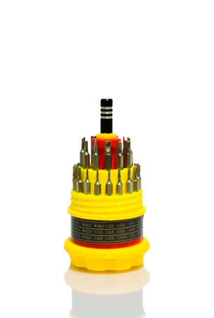 Multipurpose Screwdriver with interchangeable heads  photo