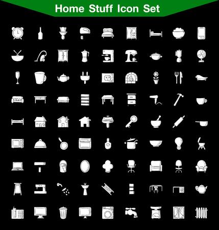 stuff: Home Stuff icon set