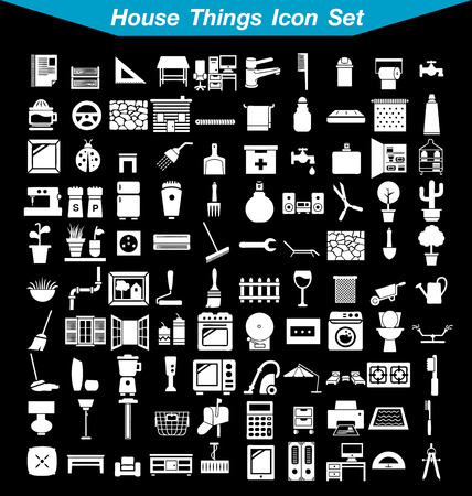 simplus: House things icon set