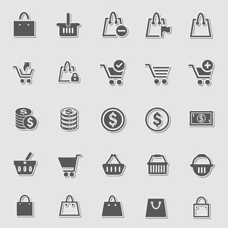ecommerce icons: Ecommerce icons set