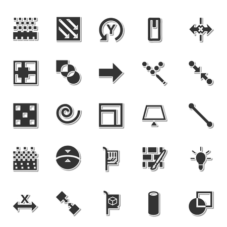 icon 3d: 3D Graphics icon set