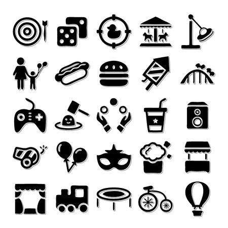 luna: Amusement Park icon set