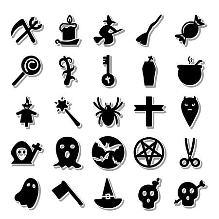 basic candy: Night Horror icon set