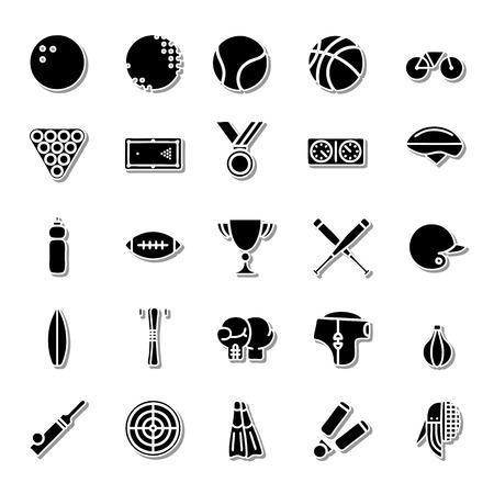 sporting: Sporting icon set