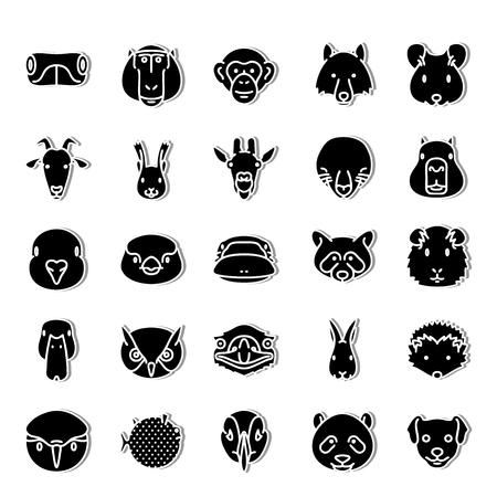 fauna: Fauna icon set