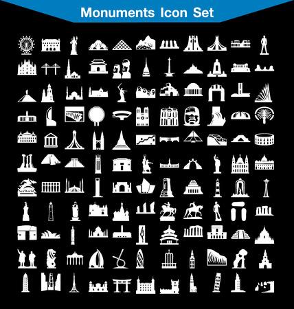 monuments: Monuments icon set