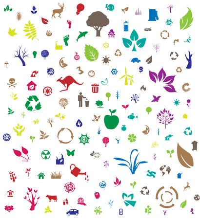 Eco icon background