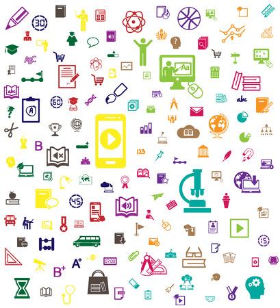 Education icon  background
