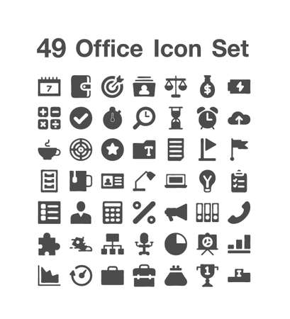 49 Office icon  Set