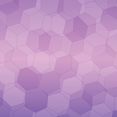 gauze: purple and pink gradient Polygonal style vector pattern for background.