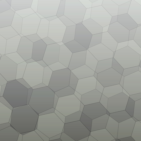 grey pattern: Grey gradient Polygonal style vector pattern for background.