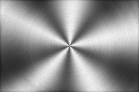 ironworks: Circular brushed metal texture background,illustration