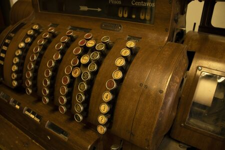 old coin machine