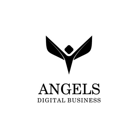 ANGEL LOGO Illustration