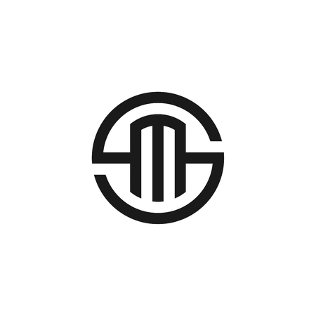 BLACK AND WHITE SM LOGO