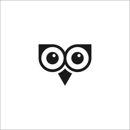 BLACK AND WHITE OWL VECTOR IMAGES