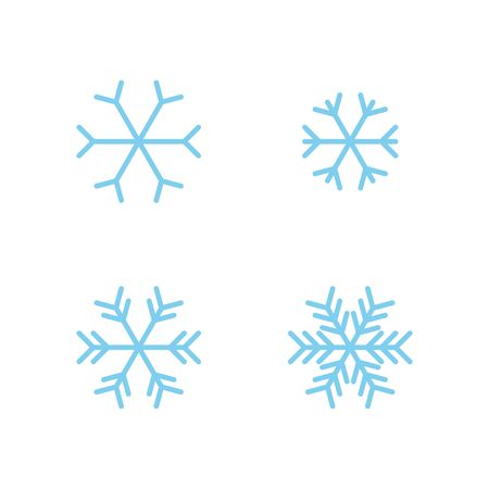 SOME SNOW LOGO WITH YOUNG BLUE COLOR Иллюстрация