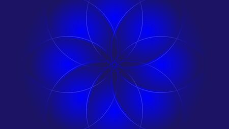 BACKGROUND WITH THE SUN FLOWER THEME BLUE
