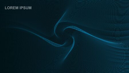 ABSTRACT BACKGROUND ABSTRACT WITH BLACK BLUE COLOR