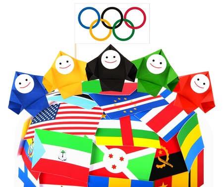 Conceptual image of olympic games and sport competition