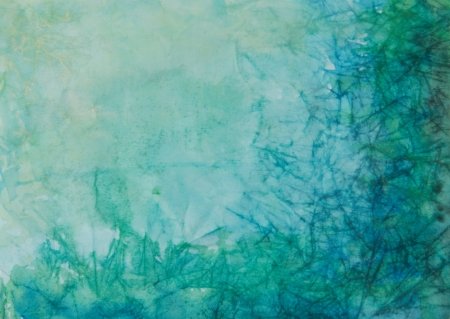 Paper with blue, green, and black paint abstract. Abstract border frame with vintage background texture design, luxurious paper or grunge wallpaper