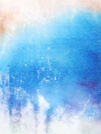 Abstract textured background  blue amd white patterns  For art texture, grunge design, and vintage paper   border frame