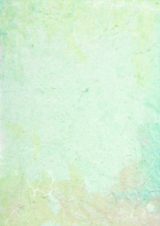 Abstract textured background  blue, green, and yellow patterns  For art texture, grunge design, and vintage paper   border frame Stock Photo - 16253039