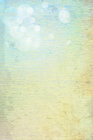 Abstract textured background: blue and brown patterns on yellow backdrop Stock Photo - 16593987