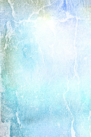 Abstract textured background: blue, yellow, and white patterns on sky-like backdrop